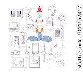 start up design | Shutterstock .eps vector #1044152317