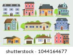 Cottage House Facede Vector...