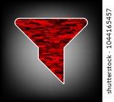 strainer  filter icon. vector....   Shutterstock .eps vector #1044165457
