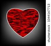 heart iconr. love symbol....   Shutterstock .eps vector #1044167713