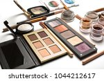 flat lay of professional... | Shutterstock . vector #1044212617