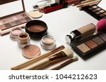 closeup shot of highlighters ... | Shutterstock . vector #1044212623