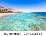 eilat  israel. beautiful sea ... | Shutterstock . vector #1044216883