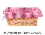 Picnic Basket Isolated