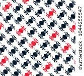 seamless abstract vector...   Shutterstock .eps vector #1044255547