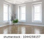 idea of a white empty...   Shutterstock . vector #1044258157