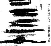 black and white grunge stripe... | Shutterstock .eps vector #1044275443