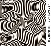 optical illusion  black and...   Shutterstock .eps vector #1044295867
