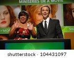 chandra wilson and jim parsons... | Shutterstock . vector #104431097