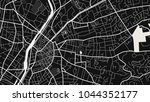 art black white map city | Shutterstock .eps vector #1044352177