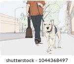hand drawn vector illustration. ... | Shutterstock .eps vector #1044368497