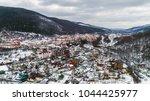 aerial view of carpathian... | Shutterstock . vector #1044425977