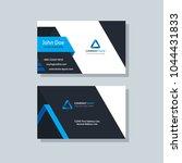 modern business card template... | Shutterstock .eps vector #1044431833