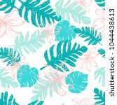 contemporary seamless pattern... | Shutterstock .eps vector #1044438613
