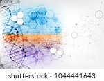 science template  wallpaper or... | Shutterstock .eps vector #1044441643