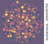 rhombus violet minimal... | Shutterstock .eps vector #1044450763