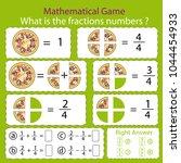 mathematical educational tasks... | Shutterstock .eps vector #1044454933