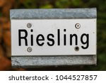 metal label with the name of... | Shutterstock . vector #1044527857