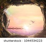 resurrection concept ... | Shutterstock . vector #1044534223