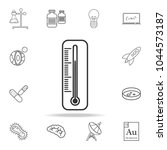 thermometer line icon. detailed ... | Shutterstock .eps vector #1044573187
