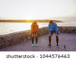 health young couple taking a... | Shutterstock . vector #1044576463