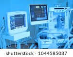 equipment and medical devices... | Shutterstock . vector #1044585037