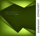 green frame background vector... | Shutterstock .eps vector #1044621007