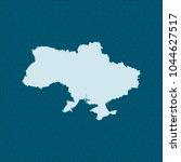 map of ukraine | Shutterstock .eps vector #1044627517