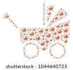baby carriage figure...   Shutterstock .eps vector #1044640723