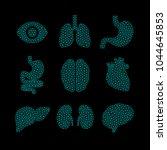 set of vector illustrations of... | Shutterstock .eps vector #1044645853
