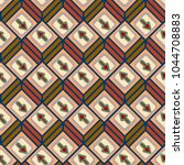 seamless abstract pattern with... | Shutterstock .eps vector #1044708883