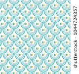 seamless repeating pattern.... | Shutterstock .eps vector #1044724357