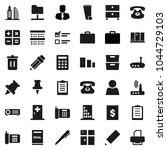 flat vector icon set   trash... | Shutterstock .eps vector #1044729103