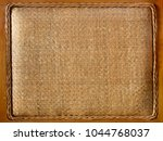 brown burlap background | Shutterstock . vector #1044768037