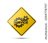 set service icons image of... | Shutterstock .eps vector #1044778747