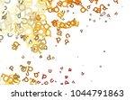 light orange vector pattern... | Shutterstock .eps vector #1044791863
