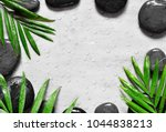 grey spa background ... | Shutterstock . vector #1044838213