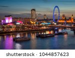 landscape image of the london... | Shutterstock . vector #1044857623