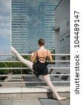 ballet dancer  ballerina ... | Shutterstock . vector #104489147