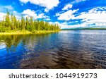 forest river water landscape | Shutterstock . vector #1044919273
