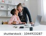 practising gratitude when... | Shutterstock . vector #1044923287