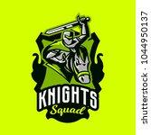 colorful emblem  logo  badge of ... | Shutterstock .eps vector #1044950137