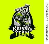 colorful emblem  logo  badge of ... | Shutterstock .eps vector #1044950143