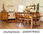 interior of the country style... | Shutterstock . vector #1044979453