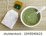 homemade natural mask  scrub ...   Shutterstock . vector #1045040623