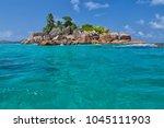 beautiful tropical st. pierre...   Shutterstock . vector #1045111903