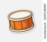 vector illustration. classic... | Shutterstock .eps vector #1045138987