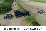 Aerial Bird View Photo Tractor...