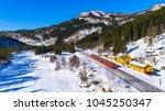 train oslo   bergen in... | Shutterstock . vector #1045250347
