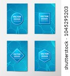 medical banner with... | Shutterstock .eps vector #1045295203